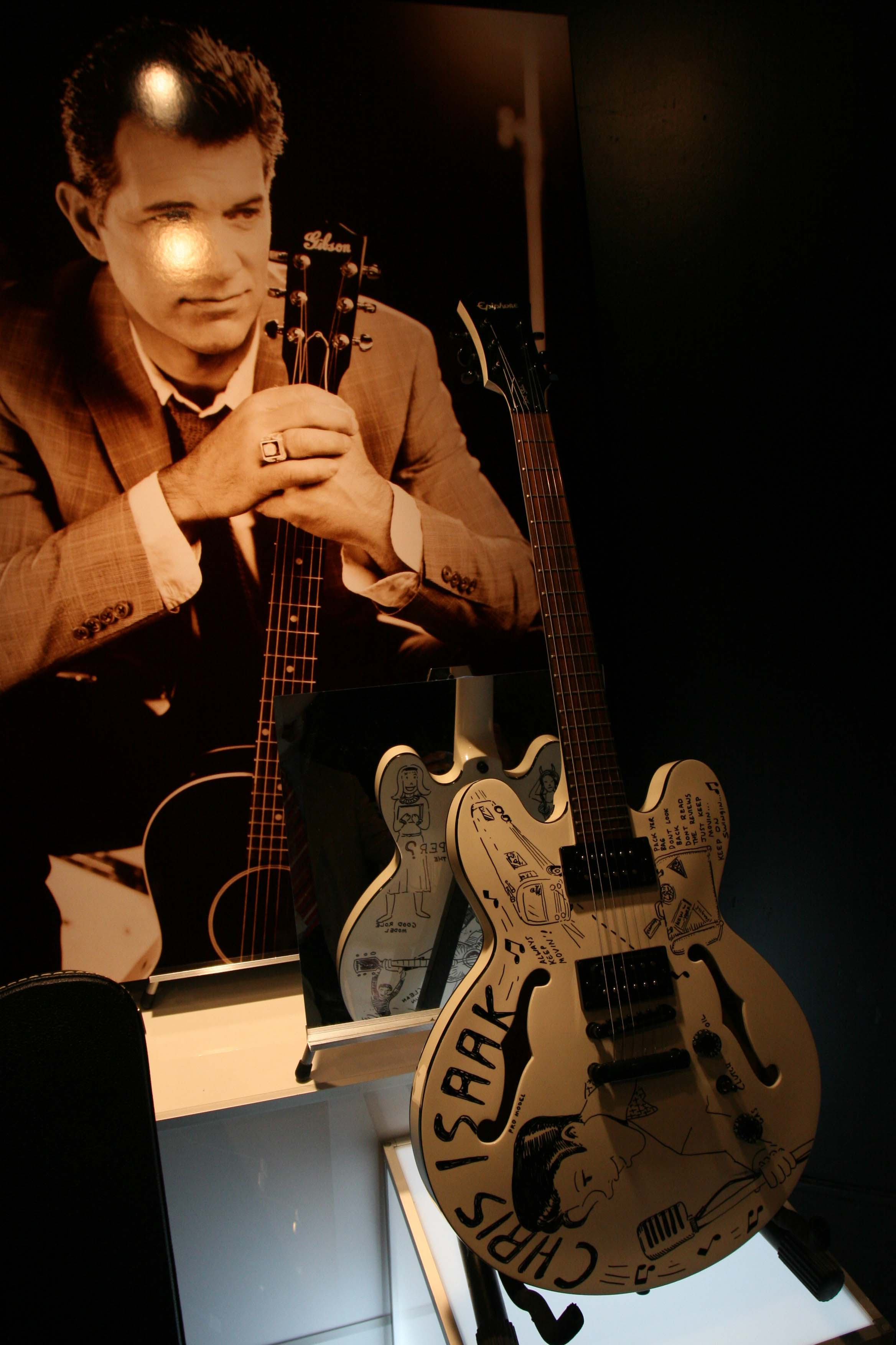 Chris Isaak guitar