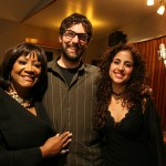 Patti Labelle, myself and Liel at EastSide Sound Studios in NYC